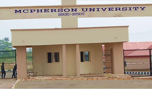 McPherson University (MCU) Post UTME FOrm