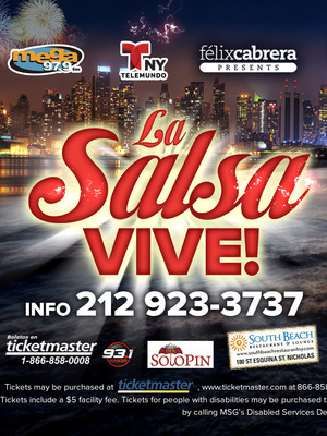 La Salsa Vive Madison Square Garden New York Ny Tickets