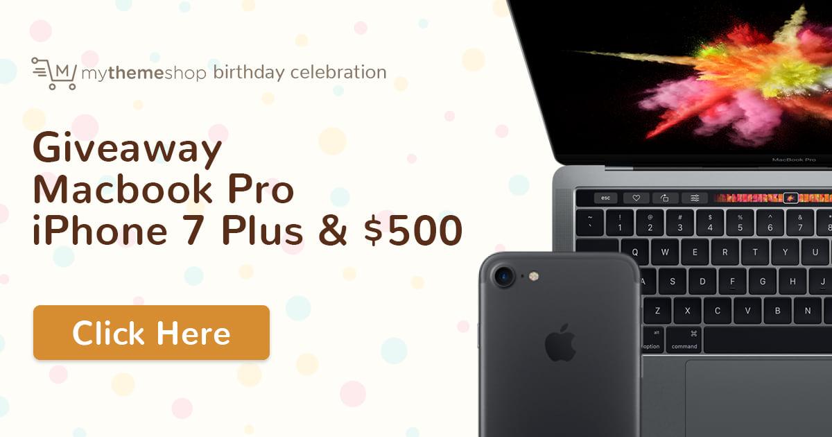 MyThemeShop 5th Birthday
