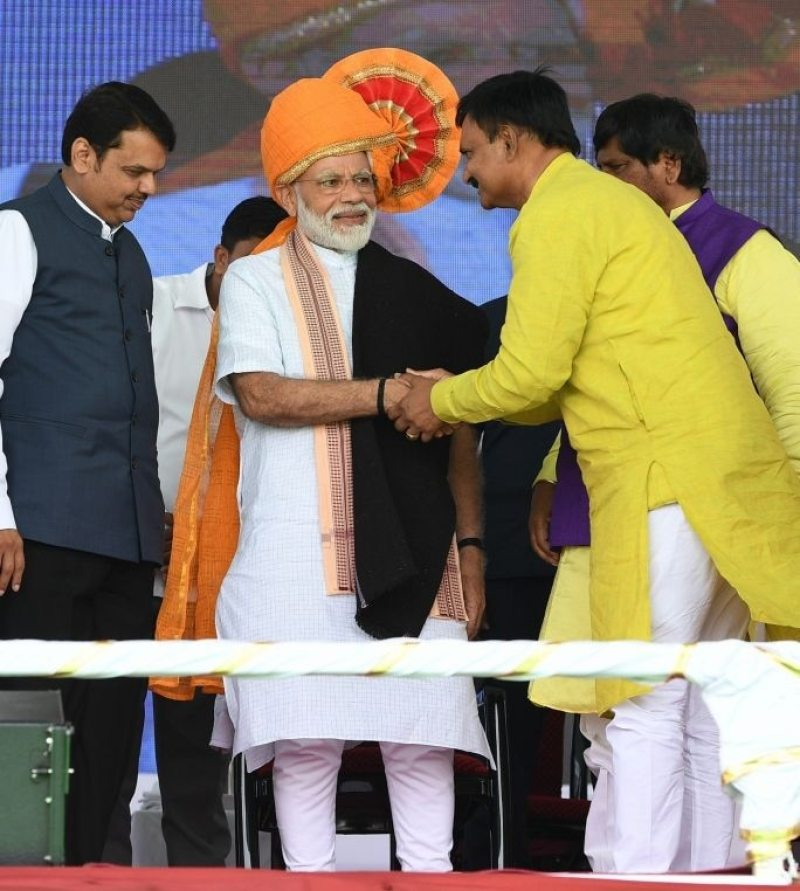 The only reason for the 'Maha-Milawat' alliance is to remove Modi and form an opprtunistic coalition of parties: Prime Minister