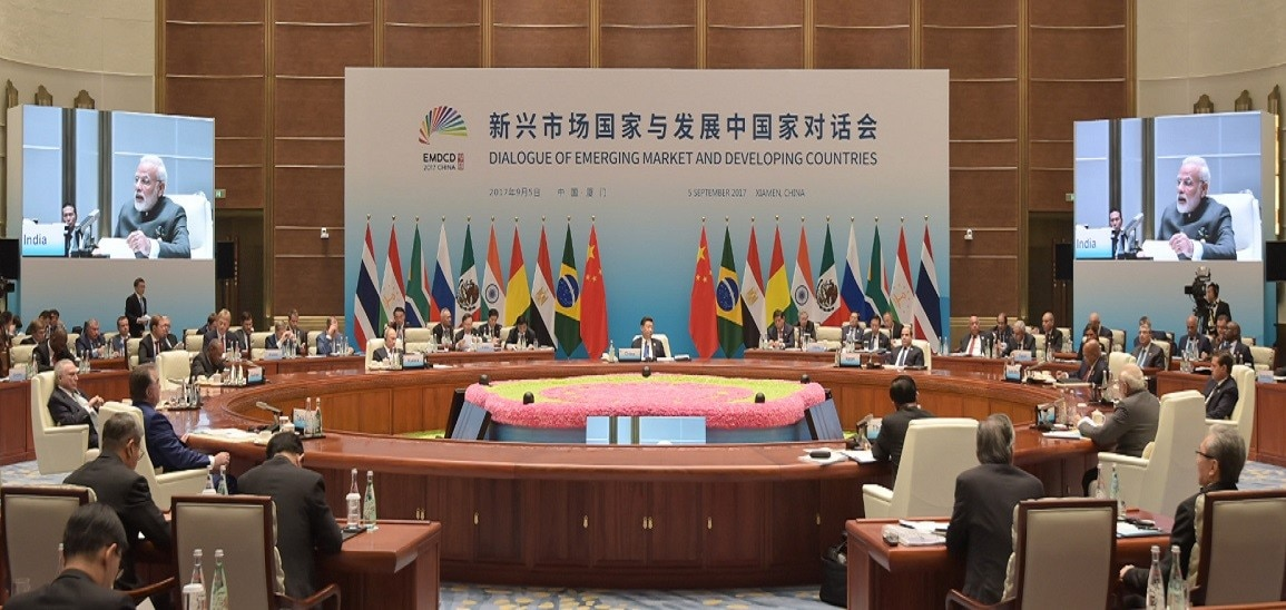 PM addresses 'Dialogue of Emerging Markets & Developing Countries' in Xiamen