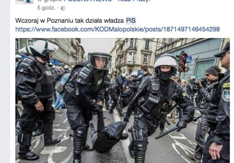 Sobotnia demonstracja w Poznaniu