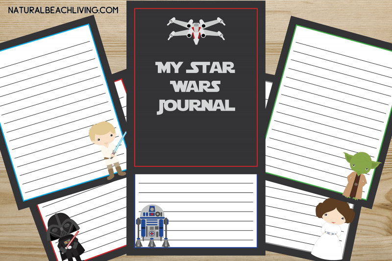Free Star Wars Printables Journal For Kids Natural Beach Living