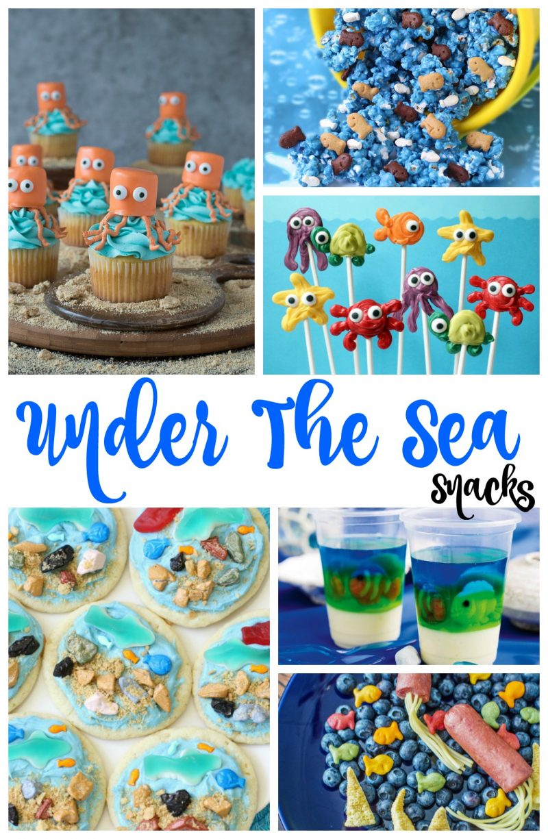 under the sea snacks