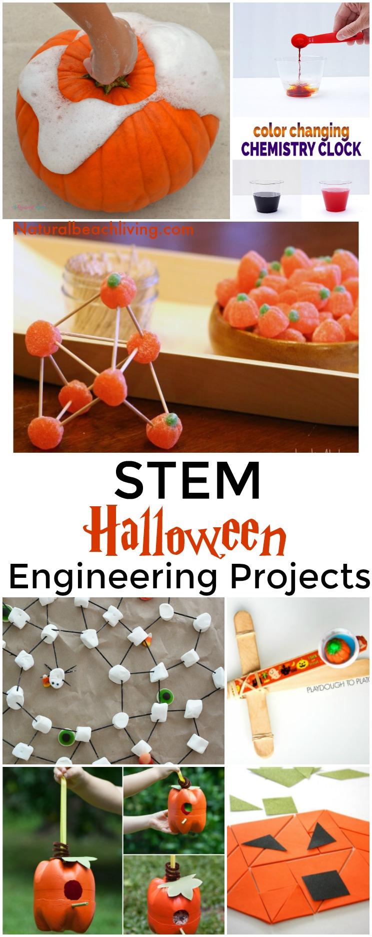 20+ Halloween STEM Activities for Preschool and Kindergarten - Natural Beach Living
