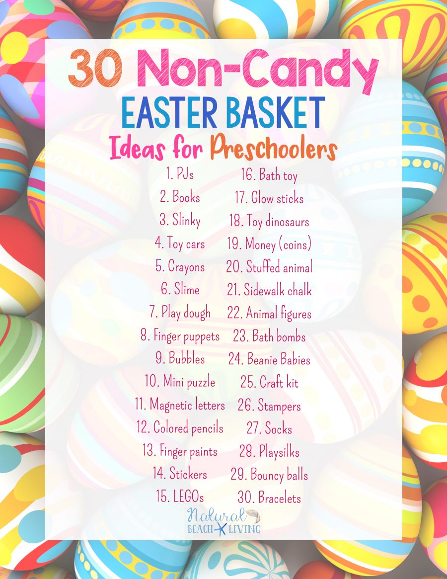 30 non candy easter