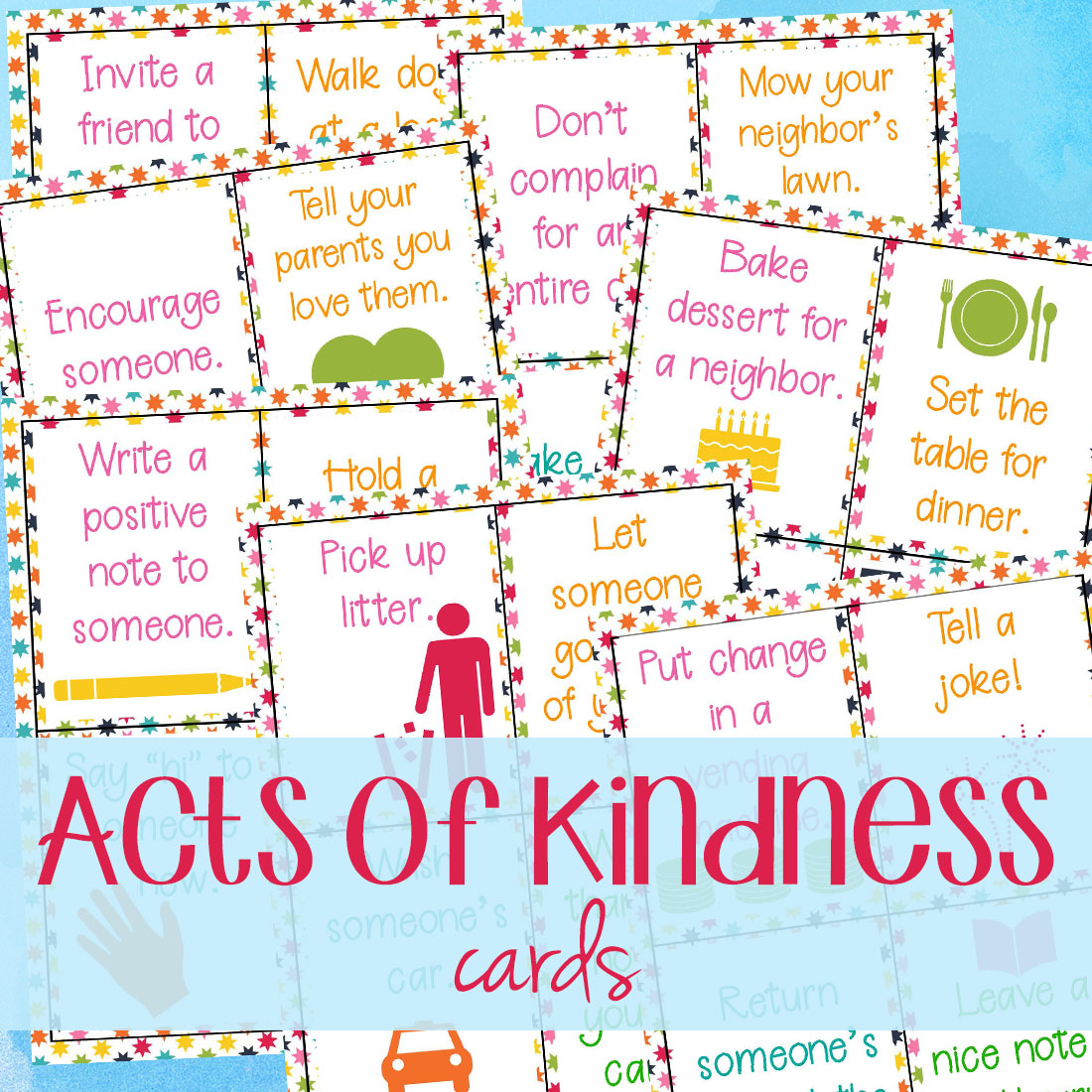 25 Random Acts Of Kindness Ideas For School