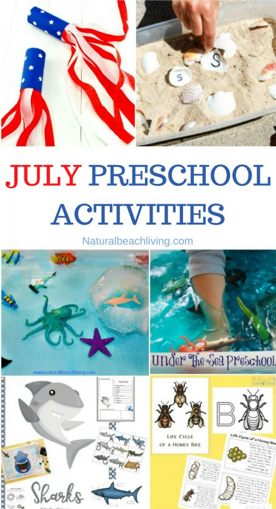 July Preschool Themes : preschool, themes, Preschool, Themes, Lesson, Plans, Activities, Natural, Beach, Living