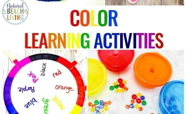 Color Activities For Toddlers Preschool And Kindergarten