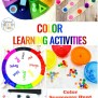 25 Preschool Color Activities Printables Learning