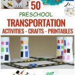 23 Preschool Transportation Activities Kids Love Natural Beach Living