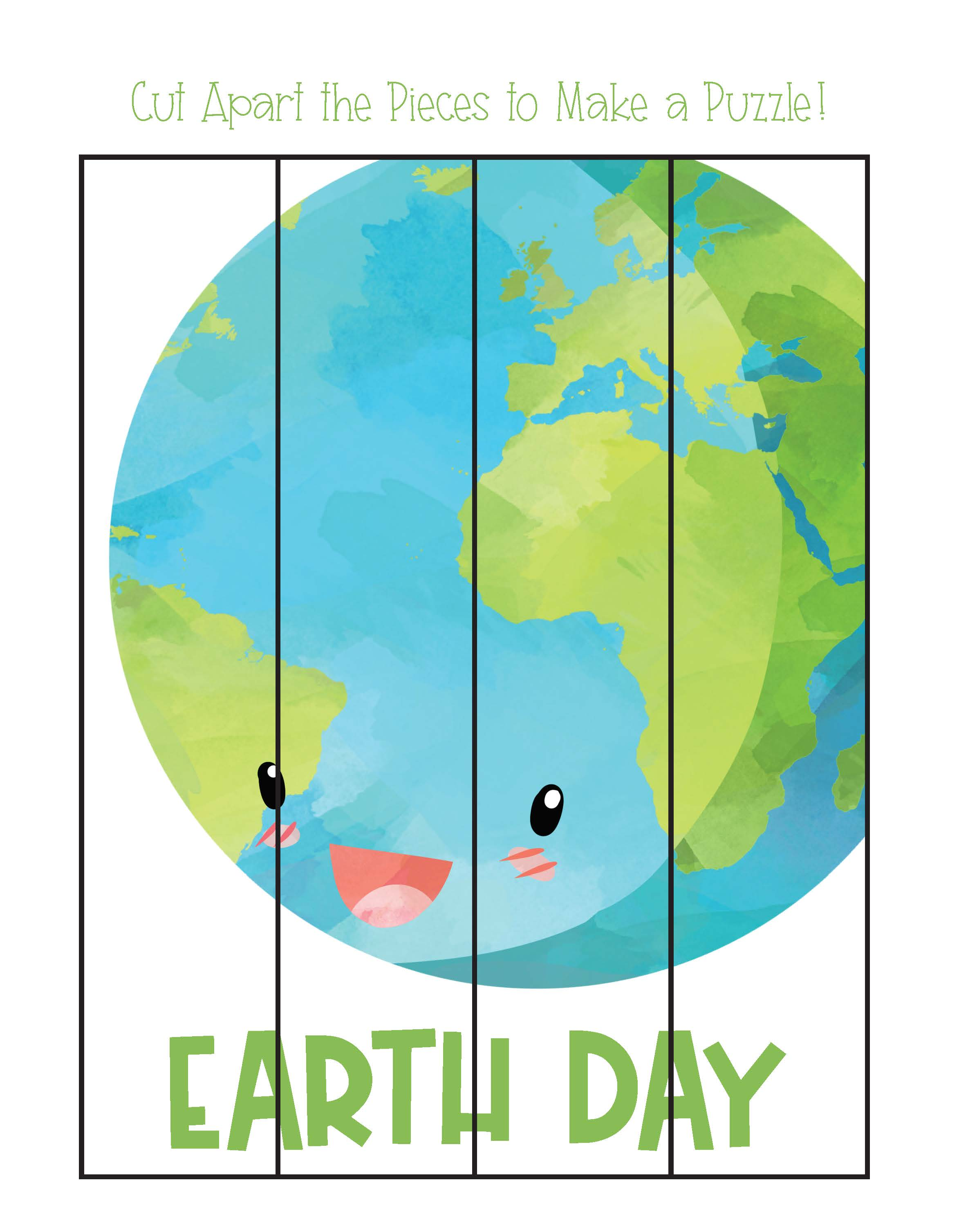 Preschool Worksheets Earth Day