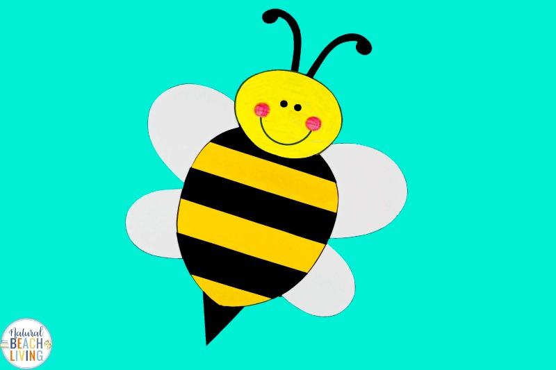preschool bee craft with