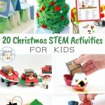25 Christmas Stem Activities For Kids Natural Beach Living