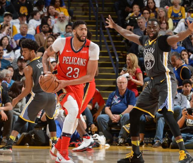 Numbers Preview Golden State Warriors Vs New Orleans Pelicans