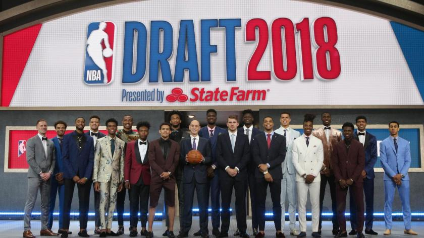 Image result for nba rookie class draft night 2018