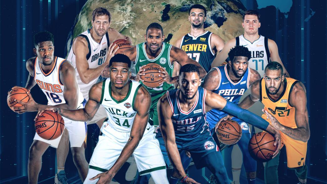 Nba Rosters Feature 108 International Players From 42