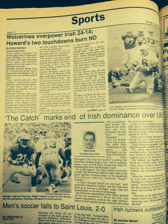 The Observer from Sept. 1991.