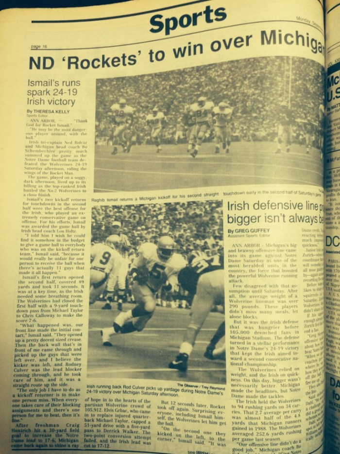 The Observer from Sept. 1989.