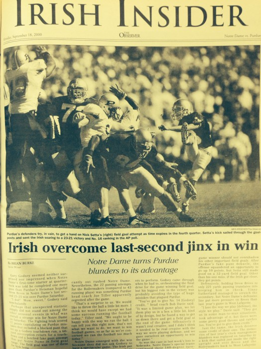 The Observer from Sept. 18, 2000.