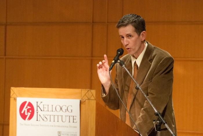 20140927, Hesburg Auditorium, Hesburgh Center for International Studies, Martyr of Solidarity Lecture, Monsenor Romero