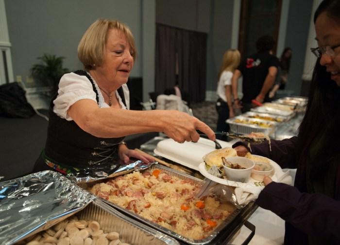 20141119, 20141119, Food, International Taste of South Bend, LaFortune Ballroom, Michael Yu