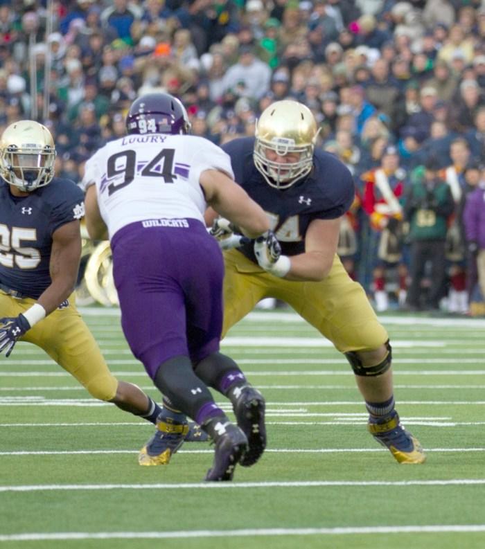 20141115, vs Northwestern, Lombard, Emmet Farnan