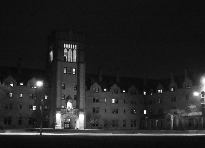 Le Mans on Saint Mary's campus will be lit blue for the month of April in order to raise awareness about autism.
