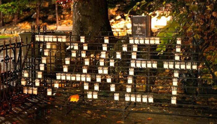 20151112, 20151112, Candles, Grotto, Jake Scanlan, Rachel O'Grady