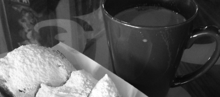An order of beignets from Chicory Cafe