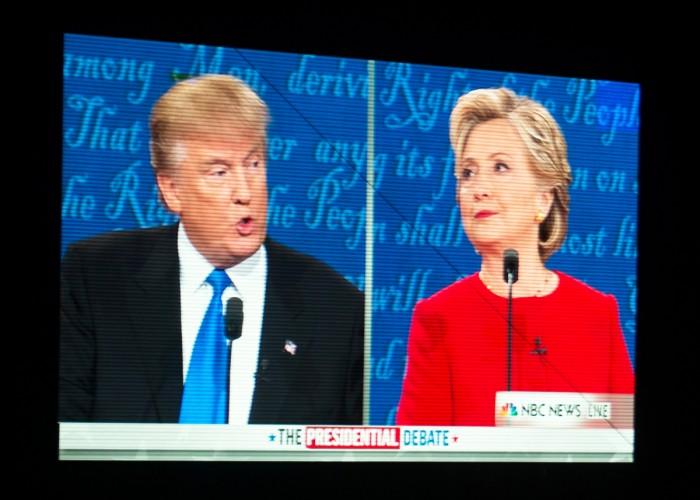 WEB - 20160926, 20160926, Caitlyn Jordan, debate watch, Trump vs. Clinton