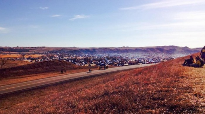 Students from both Notre Dame and Saint Mary's traveled to Standing Rock over Thanksgiving break to protest the Dakota Access Pipeline.