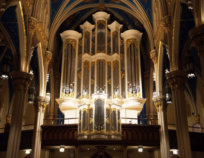 After ten years of organizing and work, the Basilica of the Sacred Heart is dedicating a new organ.
