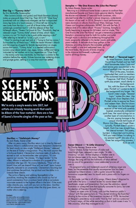 scenes selection web