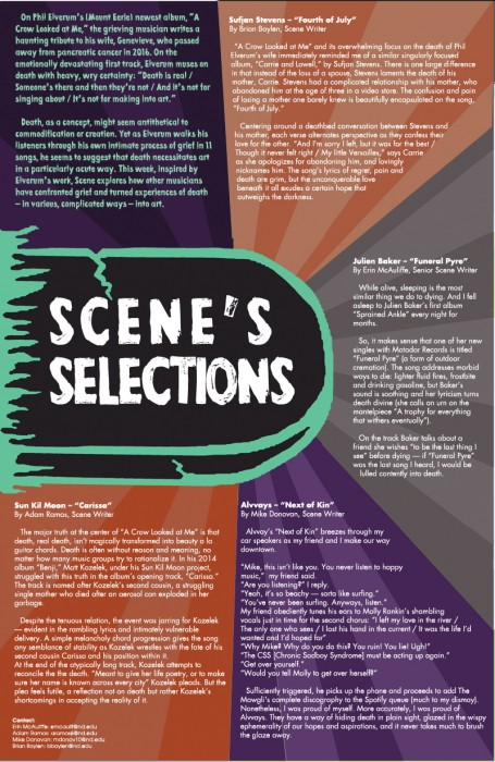 SCENE SELECTIONS death WEB