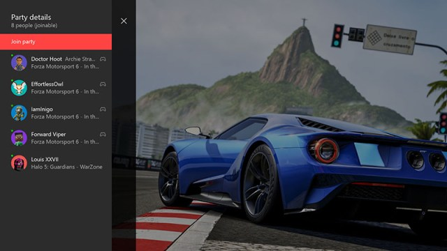 Xbox One's First 2016 Update Improves Party Mode, Brings Back Gamerscore