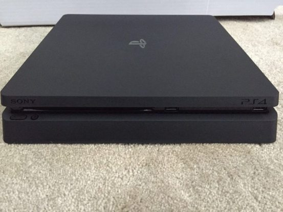 PS4 Slim Leak Shows All Matte Finish and No Optical Out
