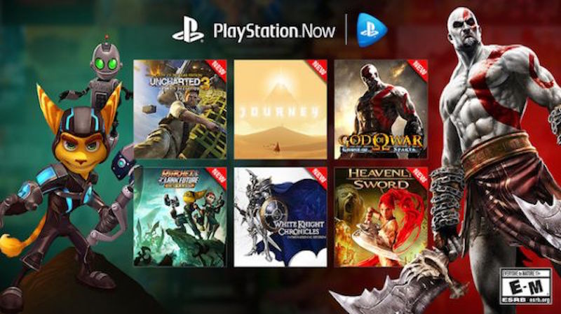 Sony S Playstation Now Game Streaming Service Gets 40 More