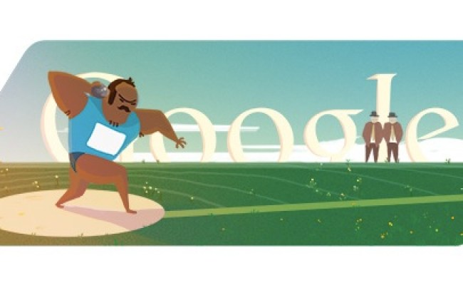 London 2012 Shot Put Google Doodle A First Technology News