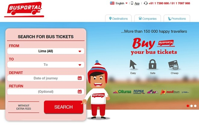 redBus Acquires Majority Stake in Peru's Busportal
