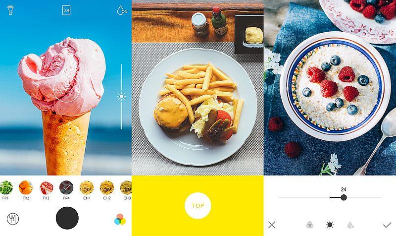 Resultado de imagen para Foodie app