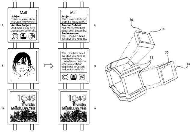 Nokia smartwatch prototype with multiple displays spotted