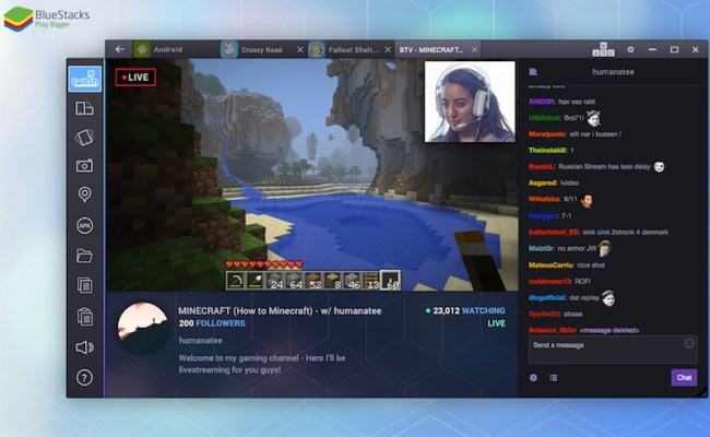 Bluestacks Now Lets You Stream Your Android Gameplay To