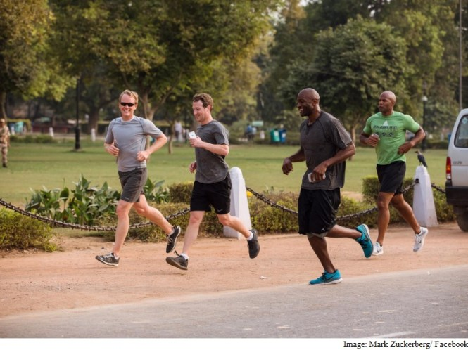 Run 587km With Facebook CEO Mark Zuckerberg This Year