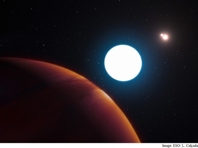 Astronomers Spot Giant Planet That Experiences Triple Sunrises and Sunsets
