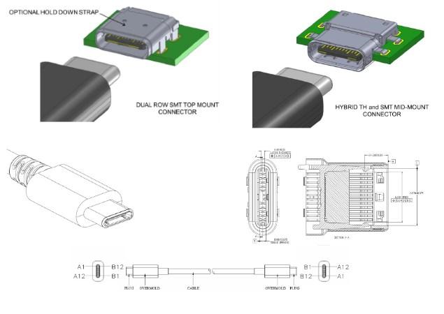 usb type b wiring diagram
