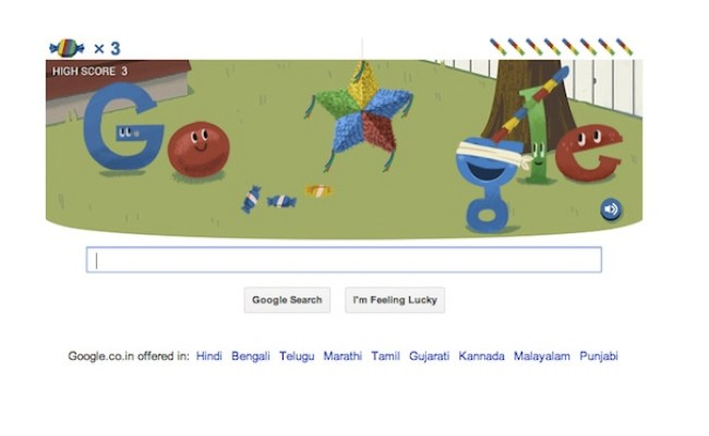 Google S 15th Birthday Celebrated By Interactive Doodle
