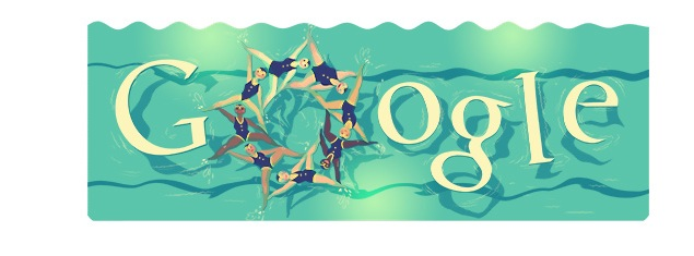 London 2012 Synchronised Swimming Olympics Day 10 Google