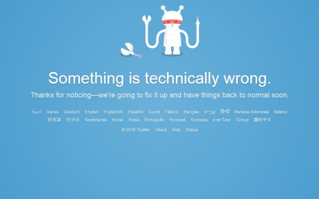 Twitter Says Widespread Outages Resolved; Blames Glitchy Software Update