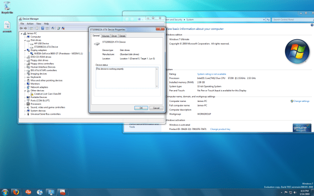 Windows 7 7057 WEI? - The Fast Ring (Insider Previews) - Neowin
